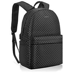 NiceEbag Casual Laptop Backpack School Bag For Women Girls L