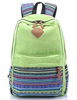 Leaper Casual Style Lightweight Canvas Laptop Bag Cute Shoul