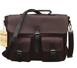 casual men pu leather backpack
