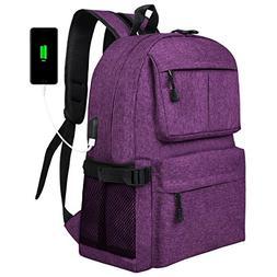 casual slim laptop backpack lightweight