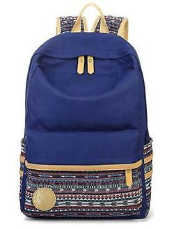 Leaper Casual Style Lightweight Canvas Laptop Bag Cute Backp