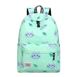 Artone Cat Fish Water Resistant Backpack Padded School Daypa