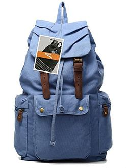 Leaper Causal Style Lightweight Canvas Laptop Bag/Shoulder B