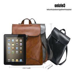 Celsino Backpack for Women PU Leather Purse Girls School Sho