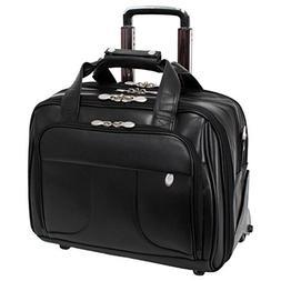 McKleinUSA CHICAGO 83585 Black 17 Detachable-Wheeled Laptop