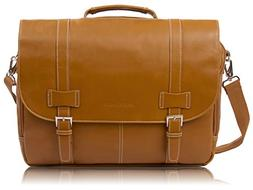 Rockdale Classic Laptop Messenger Bag, Saddle Tan - Briefcas