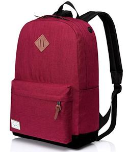 Kasqo Classic Lightweight Backpack for Men and Women Fits 15