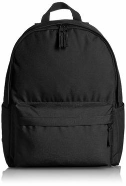Amazonbasics Classic School  Backpack - Black-Travel School