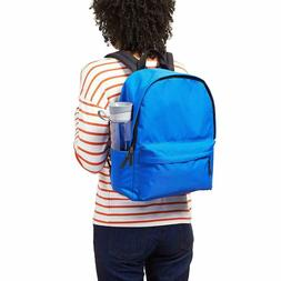 CLASSIC SCHOOL BACKPACK BOOK BAG PADDED STRAPS LAPTOP / SIDE