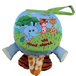 Baby Cloth Books Elephant Animal Style Infant Kids Early Dev