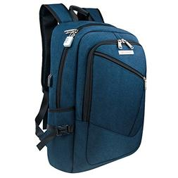 College Backpack, Tzowla 17 Inches Business Travel Backpacks