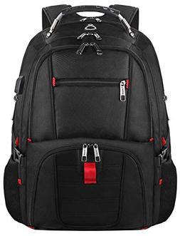 College Backpack, TSA Busines Laptop Backpack for Men Women,