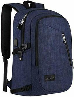College Backpack, Business Slim Laptop Mancro 15.6 inch, 3-B