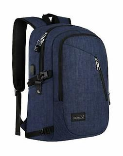 College Backpack, Business Slim Laptop Backpack, Mancro Anti