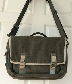 Timbuk2 Command Laptop Messenger Bag Gunmetal Adobe Size Med