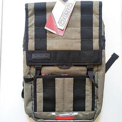 "OGIO COMMUTER PACK OLIVE  15"" LAPTOP BAG RUCKSACK BACKPACK L"
