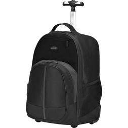 "Targus - Compact Rolling Laptop 16"" Backpack Black TSB750US"