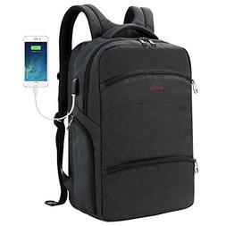 SLOTRA Computer Backpack TSA Friendly ScanSmart Laptop Trave