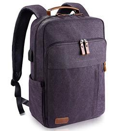 Estarer Computer Backpacks w/USB Charging Port for College T