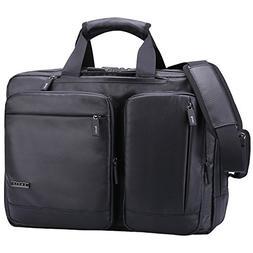Ronts Convertible Briefcase Backpack Multifunctional Waterpr