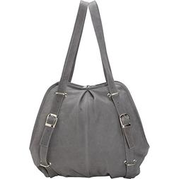 Convertible Buckle Backpack