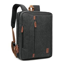 CoolBELL 17.3 Inches Convertible Laptop Messenger Bag Should