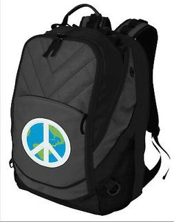 COOL World PEACE Backpack PEACE SIGN Laptop COMPUTER BAG - P