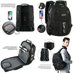 Cross Gear TSA Laptop Backpack USB Charging Port and Combina