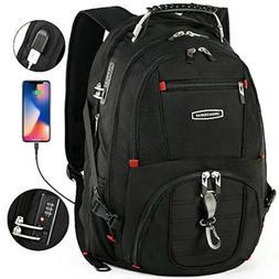 CrossGear Cross Gear TSA Laptop Backpack with USB Charging P