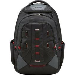 Samsonite Crosscut Laptop Backpack - Black/Red Business & La