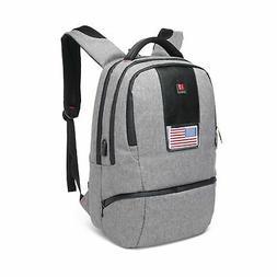 CrossLandy School College Backpack Laptop USB Charging Bookb