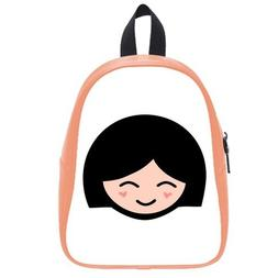 Custom Fashion Childrens Backpacks A little Girl with Smile