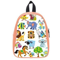Custom Fashion Childrens Backpacks Cute Cartoon Animals PU l