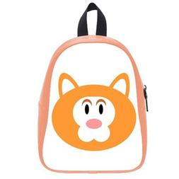 Custom Fashion Childrens Backpacks Cute Cartoon Bear PU leat
