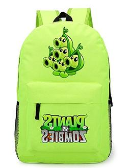 Siawasey Cute Plants Zombie Hot Game Bookbag Backpack School