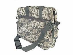 Deluxe Digital Gray Camouflage Portfolio Laptop Bag Case, Ta