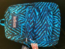 JANSPORT DIGIBREAK BACKPACK MAMMOTH BLUE WILD AT HEART LAPTO