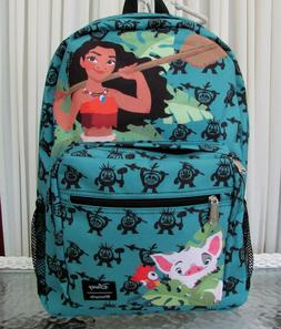 Disney Loungefly Moana Backpack Camp School Travel Bag Lapto