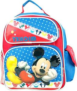 """Disney Mickey Mouse Toddler 12"""" Backpack."""