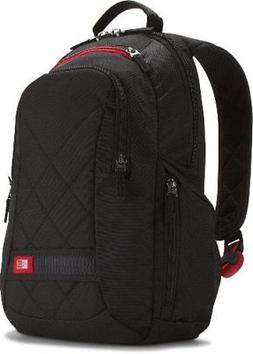 Case Logic DLBP-114 14-Inch Laptop Backpack Bag - Black FREE