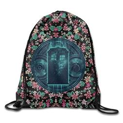 HAAUT Doctor Who Port Bag Drawstring Backpack