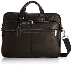 Heritage Double Gusset Top Zip Computer Case with Lined Inte