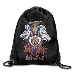 Drawstring Bag Princess Mononoke