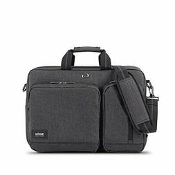 Solo Duane 15.6 Inch Laptop Hybrid Briefcase Converts to Bac