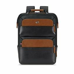 "Solo East Hampton 15.6"" Laptop Backpack Briefcase, Black, On"