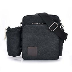 """T-PERFECT LIFE 8"""" Eco-Friendly Vintage Canvas Multi-function"""