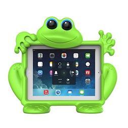 Koooky Eddie the Frog Children's Green Apple iPad Gen 2,3,4