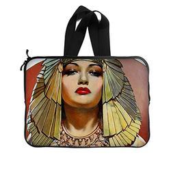 JIUDUIDODO Elegant Egyptian Woman New Laptop Water Resistant