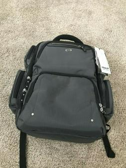 exe750 10 gramercy collection laptop backpack gray