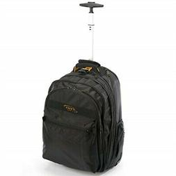 A. Saks EXPANDABLE Trolley Laptop Backpack
